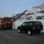 Patru persoane, rănite în urma unui accident rutier petrecut între localitățile Spermezeu și Căianu Mic
