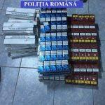 Peste o mie de pachete de țigarete, confiscate de polițiști în minivacanța de 1 decembrie