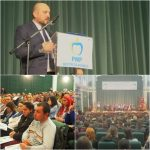 Ionuț Simionca, ALES președinte pe județ al Mișcării Populare! Sala a fost FULL de tineri veniți să-l susțină pe carismaticul LIDER !