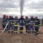 Final de intervenție la sonda de gaz din localitatea Moftinu Mare