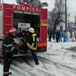 FOTO/VIDEO: Clinica Sanovil din Bistrița și Spitalul Orășenesc din Năsăud, cuprinse de flăcări (exercițiu de simulare)