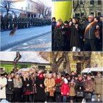 Exercițiu de forță a PSD-iștilor, la Hora Unirii! Ca de fiecare dată, spațiul-public a fost  INVADAT de oameni de partid, nelipsiți de la inaugurări, panglicări și alte-cele!