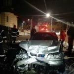 FOTO: Patru persoane au ajuns la spital în urma unui accident rutier petrecut în Năsăud
