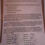 Parva, prima localitate din România care a semnat o declarație de unire cu Republica Moldova
