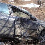 Trei mașini au fost implicate într-un accident rutier produs pe DN 17