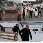 Crețu s-a scos, dar numai proștii-l CRED! Primarul și-a făcut rost de o delegație la sașii plecați în Germania și a participat la un târg de construcții! Șpilu-i că pe perioada excursiei la schi, l-a lăsat pe Muthi de la ALDE să conducă Primăria Bistrița, NU pe colegul de partid Cristi Niculae!