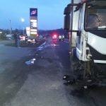 FOTO: Accident la Beclean, în urma căruia un bărbat și-a pierdut viața
