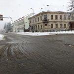 Iarna nu se dă dusă! Cum arată străzile din Bistrița după acțiunile de deszăpezire?