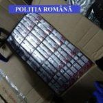 FOTO: Polițiștii din Bistrița-Năsăud au ridicat aproape 100.000 de țigarete de la un bărbat bănuit de contrabandă