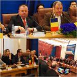 Declarație-simbolică de Unire cu Republica Moldova! O ședință care a avut de toate: aplauze, discursuri lacrimogene despre neam și țară, steaguri tricolore și îmbrățișări între moldoveni și români!