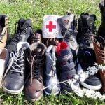FOTO: Încălțăminte pentru nevoiașii din Bistrița