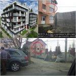 """Începe scandalul! Se cere anularea autorizației pentru blocul de pe Calea Moldovei! Imobilul de 6 etaje, construit la câțiva metri de un bloc de 2 etaje: """"îmi ocupă toate ferestrele apartamentului!"""""""