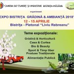 Expo – Bistrița Grădină & Ambianță, între 12 şi 15 aprilie, pe pietonalul Liviu Rebreanu