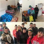 Asociația Fiantropia Ortodoxă îi sprijină pe cei sărmani! În Săptămâna Mare, 180 de familii au primit pachete consistente!