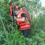 FOTO: Echipajele de intervenție caută o femeie despre care se crede că ar fi căzut în râul Someș
