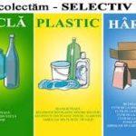 În 3 săptămâni s-au adunat peste 2.000 de saci cu ambalaje de tip PET. Campania de colectare selectivă a deșeurilor continuă!