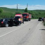 Accident la Sânmihaiu de Câmpie! 9 persoane implicate!