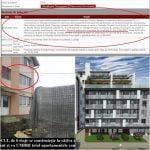 S-a oprit construcția la blocul lui Negrea de pe str. Lucian Blaga! Tribunalul a hotărât suspendarea autorizației semnate de Crețu și urbaniștii Primăriei Bistrița, caz în care se sistează lucrările! Avocații merg până la capăt și cer DEMOLAREA