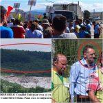 """Miting la Primăria din Dumitra! Oamenii vor să STOPEZE defrișarea de 10 hectare de la Tărpiu, manevră pusă la cale de Consiliul Județean! Mesaj către Bălăjan: """"Vrem pădure, NU gunoaie!"""""""