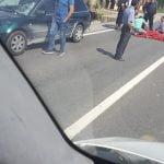 FOTO: Femeie în stop cardio-respirator după ce a fost lovită de o mașină. Accidentul s-a produs în Coldău