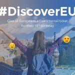 Tinerii de 18 ani se pot înscrie pentru călătorii gratuite prin Europa!