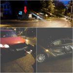 Giratoriile din Bistrița, capcane pentru șoferii din alte orașe! Accident într-unul din sensurile de pe Bulevard, extrem de prost-semnalizat!