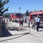 FOTO/VIDEO: Casă din cartierul Viișoara, cuprinsă de flăcări!
