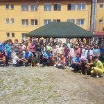 FOTO: Peste 100 de copii, în tabără în stațiunea Sîngeorz-Băi. Jandarmii, alături de elevi