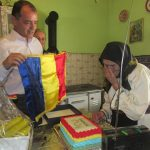 FOTO: O viață cât un centenar. Patru persoane născute deodată cu România Mare au fost aniversate de către reprezentanții structurilor teritoriale ale MAI