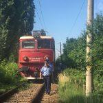 FOTO: Tragedie pe calea ferată! Un bărbat a decedat după ce a fost lovit de tren