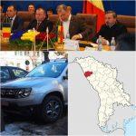 Frații de peste Prut ne-au cerut peste 1.5 MILIOANE de euro pentru stadion și drumuri în Republica Moldova! Primesc un DUSTER pomană! Din banii județului, Radu Moldovan face cadou o mașină de 17.000 de euro, cu dedicație pentru tovarășii din Glodeni!
