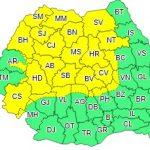 Din această după-amiază vin ploile! Județul Bistrița-Năsăud se află sub atenționare cod galben