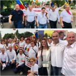 S-a 'ntors roata! Personajele care merg la chefurile de partid au fost duse cu autocarele la Mitingul lui Dragnea! C-așa-i în PSD!