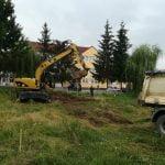 FOTO: A început construcția blocului ANL pentru medici și personal medical de la Beclean