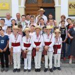 FOTO: Elevi din Republica Moldova, în vizită în Bistrița