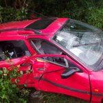FOTO: Grav accident rutier, cu patru victime, în localitatea Dumbrava. O persoană este în stop cardio-respirator