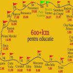 O tânără va pleca din Bistrița și va parcurge 600 de kilometri, la pas, pentru susținerea dreptului copiilor la educație