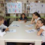 """FOTO: Atelier de engleză la Biblioteca Județeană """"George Coșbuc"""""""