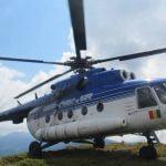 FOTO: Cu ajutorul unui elicopter al Unității Speciale de Aviaţie din Cluj-Napoca au fost identificate locațiile prielnice aterizării în cazul unor misiuni de căutare – salvare în zona montană a județului Bistrița-Năsăud