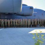 """FOTO: """"Șoimii Carpaților""""au ajuns cu bine în Afganistan"""