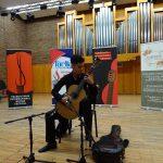FOTO/VIDEO: Un elev bistrițean, Alexandru Grecu, pe podium la un important festival de chitară clasică din Austria
