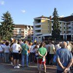 FOTO/VIDEO: Bistrița, alături de Diaspora! Sute de cetățeni au ieșit în stradă