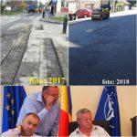 Nimeni NU-i trage la răspundere că risipesc banii publici! Într-un singur an, Primăria Bistrița asfaltează a 3-a oară o stradă din zona Sălii Polivalente… deoarece asfaltul s-a fisurat!