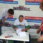 """Pe județ, U.S.R a strâns 10.000 de semnături anti-PENALI! Plicurile au fost trimise la București, pentru susținerea campaniei """"Fără penali în funcții publice!"""""""