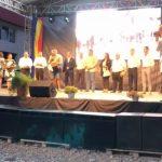 VIDEO: Tibi Ușeriu a devenit cetățean de onoare al comunei natale Prundu Bîrgăului