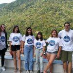 """FOTO: Opt elevi din judeţul Bistriţa-Năsăud, la Şcoala de Vară """"Tinerii şi Democraţia"""""""