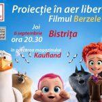 Cinemobilul ajunge la Bistrița. Pe 6 septembrie, în parcarea magazinului Kaufland 1, proiecție de film în aer liber