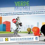 """Poliția Română și Lidl organizează a șasea ediție a campaniei """"Verde la educație pentru circulație"""". Atât în Bistrița, cât și în Năsăud vor avea loc activități de educație rutieră"""
