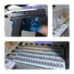 O femeie din Rodna a rămas fără 15.000 de euro și hoții i-au furat și un pistol cu aer comprimat