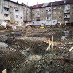FOTO: A început construcția parking-ului etajat din Prundu Bîrgăului!